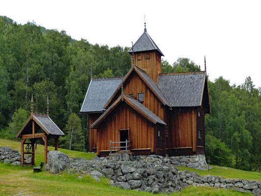 Norwegen - Stabkirche Uvdal
