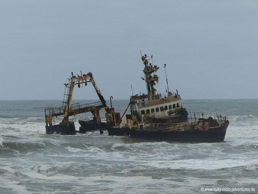 Namibia - Schiffswrack an der Skelettküste