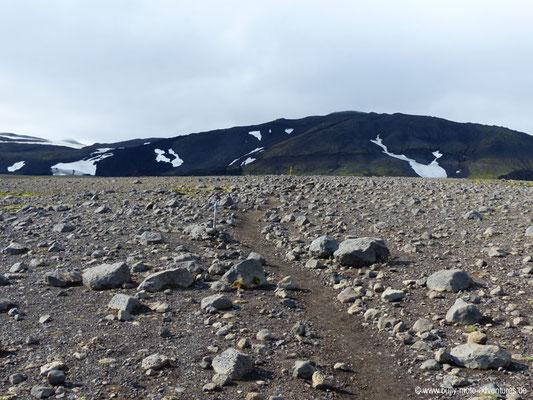 Island - Fimmvörðuháls - Plateau Morinsheiði
