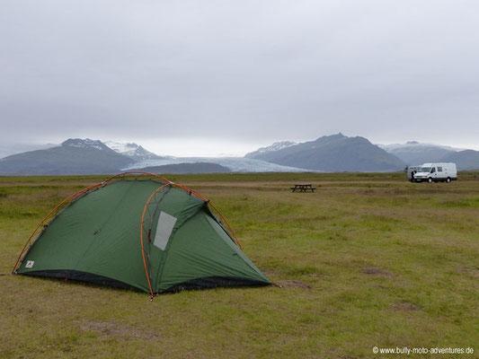 Island - Campingplatz Lambhús Cottages