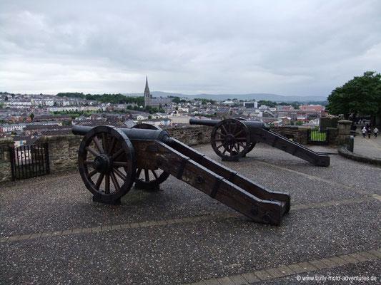 Irland - Historische Stadtmauer - Londonderry/Derry