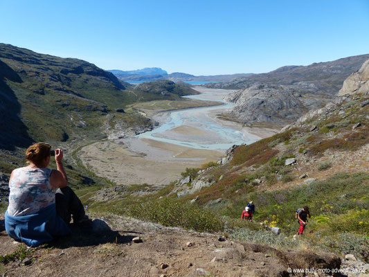 Grönland - Blick auf das Tal der tausend Blumen