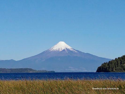 Chile - Puerto Octay - Blick auf den Vulkan Osorno
