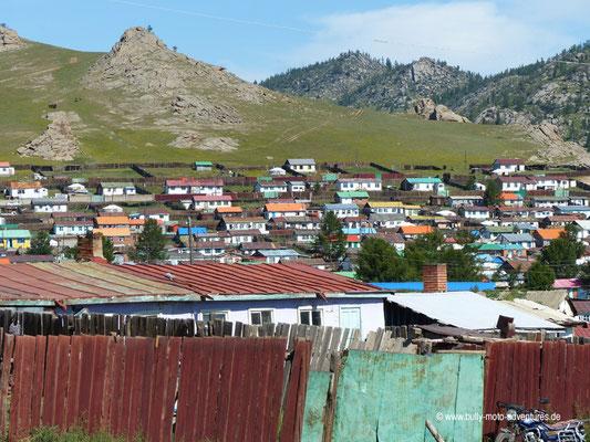 Mongolei - Blick auf Tsenkher