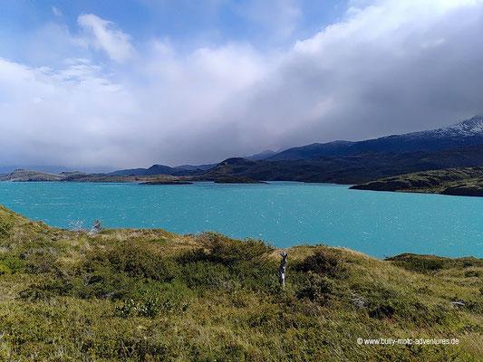 Chile - Parque Nacional Torres del Paine - W-Trek - Wanderung zur Paine Grande Lodge - Lago Pehoé