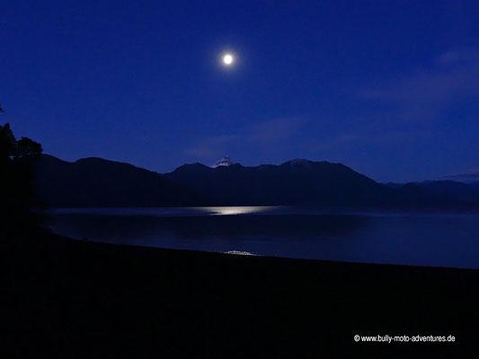 Chile - Petrohue - Abendstimmung am Lago Todos Los Santos