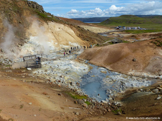 Island - Reykjanes - Geothermalfeld Seltún