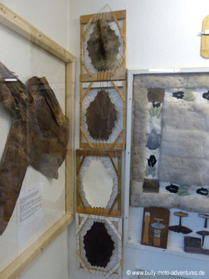 Grönland - Museum von Nanortalik - Felle