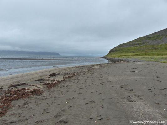 Island - Hornstrandir - Strand von Hesteyri