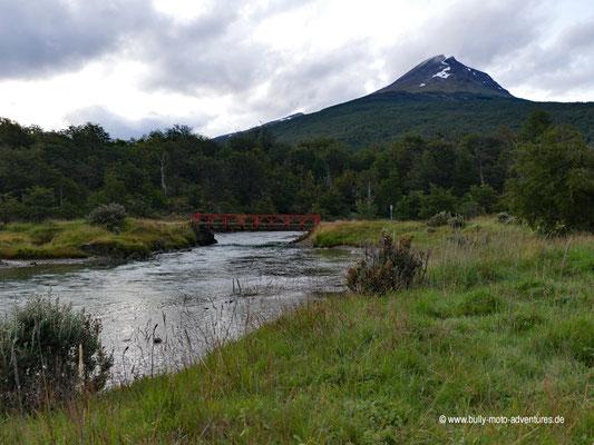 Argentinien - Parque Nacional Tierra del Fuego - Río Lapataia