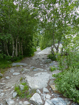 Norwegen - Jostedalsbreen Nationalpark - Wanderung zum Gletscher Nigardsbreen