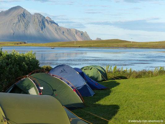 Island - Campingplatz in Höfn