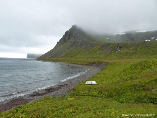 Island - Hornstrandir - Etappe 3 - Hornvík nach Hlöðuvík - Hlöðuvík