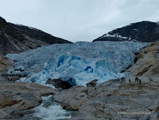 Norwegen - Jostedalsbreen Nationalpark - Gletscher Nigardsbreen
