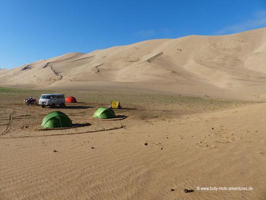 Mongolei - Sanddüne Khongoryn Els