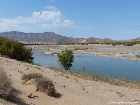 Namibia - Straße C13 - Am Oranje entlang