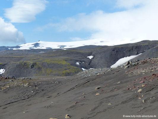 Island - Fimmvörðuháls - Gletscher Eyjafjalljökull