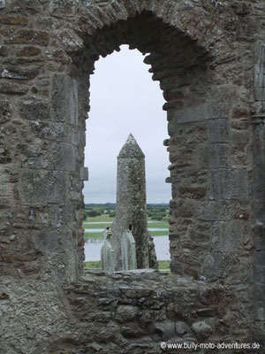 Irland - Klostersiedlung Clonmacnoise - Co. Offaly