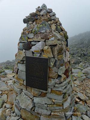 Norwegen - Berg Gaustastoppen - Beste Aussicht auf dem Gipfel