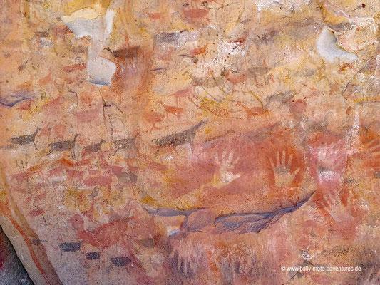 Argentinien - Cueva de las Manos - Felsmalerein