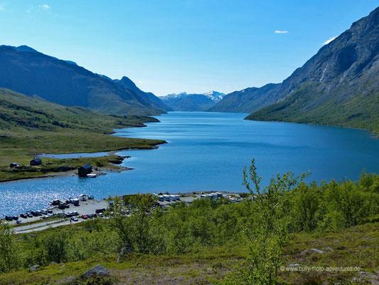 Norwegen - Jotunheimen Nationalpark - Wandern auf dem Besseggenkamm