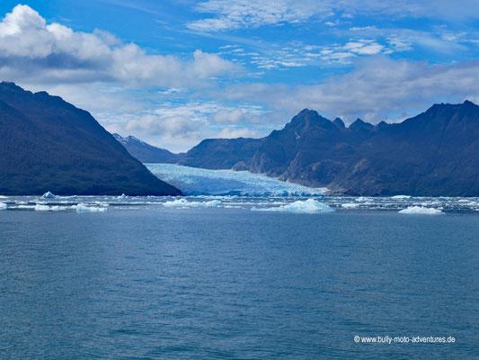 Chile - Parque Nacional Laguna San Rafael - Blick auf den Gletscher San Rafael