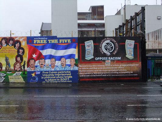 Irland - Wandmalerei - Belfast - Co. Antrim
