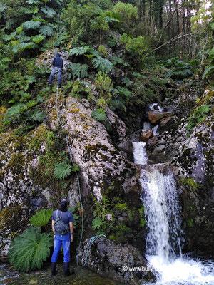 Chile - Parque Nacional Laguna San Rafael - Wasserversorgung im Park