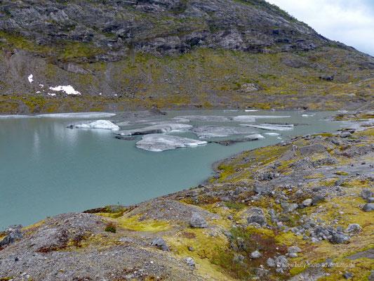 Norwegen - Jostedalsbreen Nationalpark - Wanderung zum Gletscher Tunbergdalsbreen