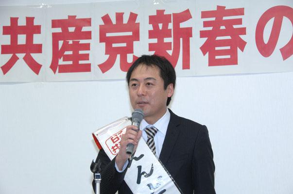 遠藤秀和選挙区予定候補