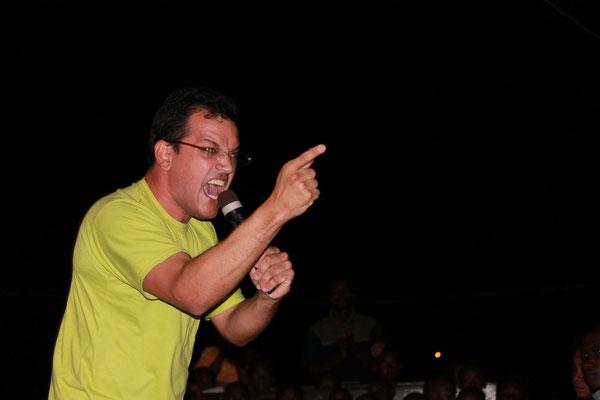 Campaña evangelista. Malabo. Guinea Ecuatorial 2013. Ministerio Gonzalo Dominguez