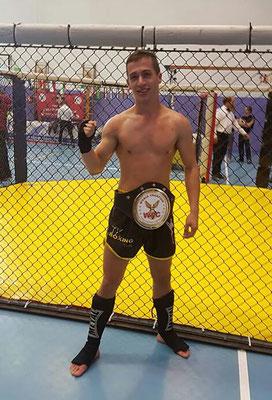 Antoine Bertin, champion du monde kickboxing