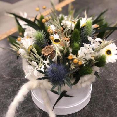 Trockenblumenbox