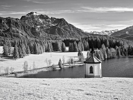 Kapelle am Hegratsrieder See
