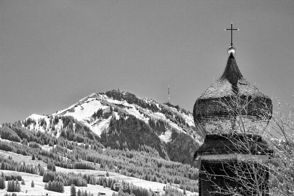 St. Nikolaus in Emmereis vor dem Grünten