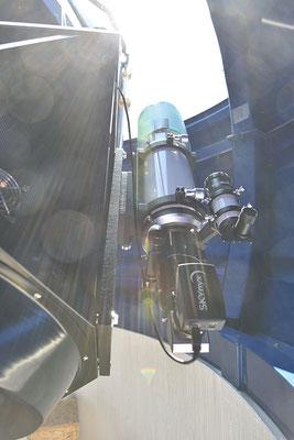 En strålende 9.mai. Skywatcher Esprit ED 120 med solfilter