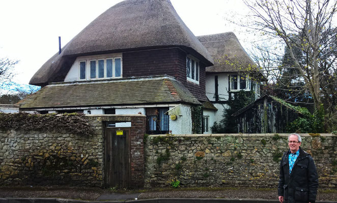 Patrick Moore's house in Selsey, West Sussex. Photo: Bjørn Rasen