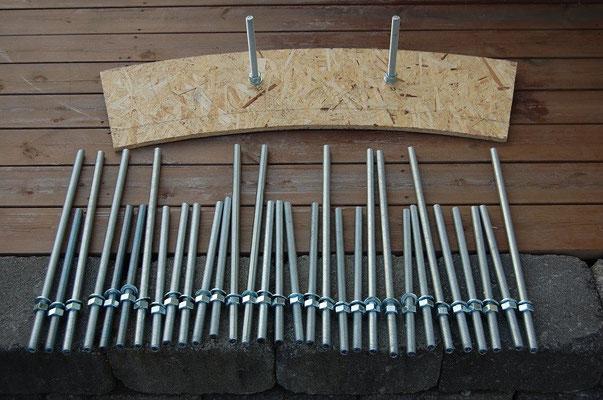Trettitre M16-bolter vil forhindre at den rogalandske nordvesten blåser kuppelen ut i Nordsjøen.