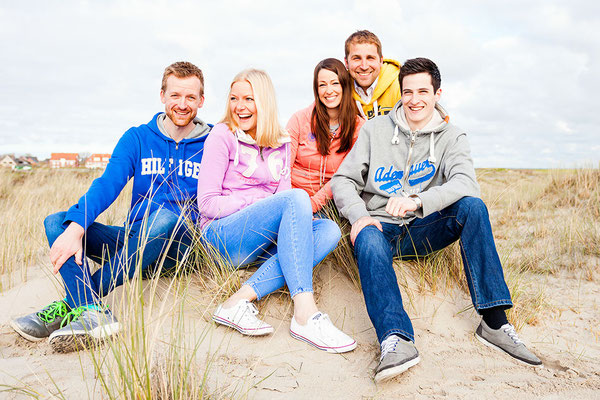 Familien Fotoshooting Norderney