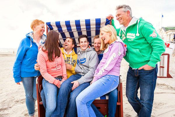 Familie Strand Norderney