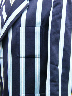 Clubjacke gestreift (Detail) von Joint Colours