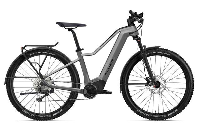 E-Bike FLYER Goroc2 Herren silber