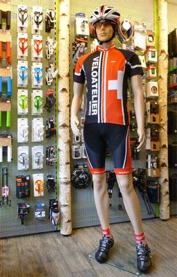 Im Veloatelier Wimmis bei Spiez finden Sie Zubehör für E-Bikes, Mountainbikes, Rennvelos etc.
