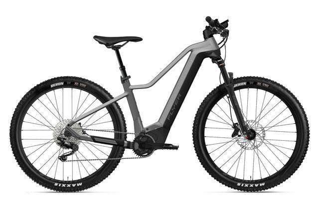 E-Mountainbike FLYER Uproc2 Herren silber