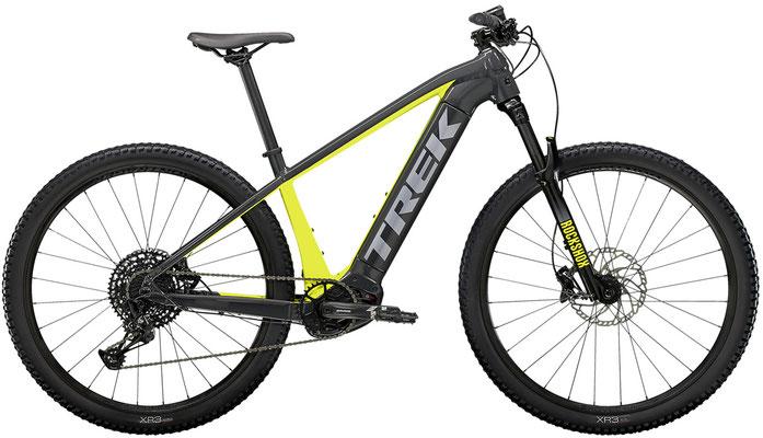 E-Mountainbike Trek Powerfly5 anthrazit/volt