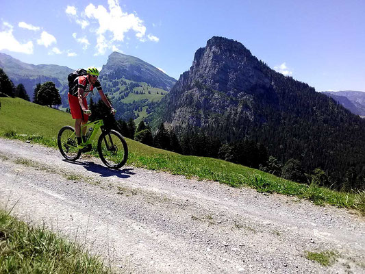 Mit dem E-Mountainbike unterwegs im Diemtigtal