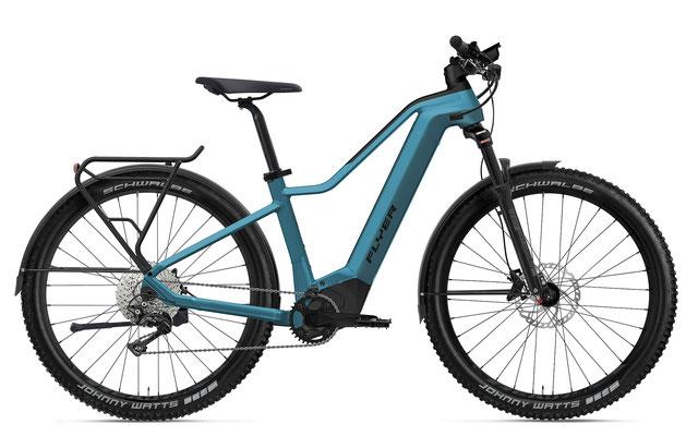 E-Bike FLYER Goroc2 Herren coast blue