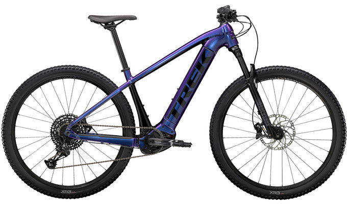 E-Mountainbike Trek Powerfly5 purpleflip