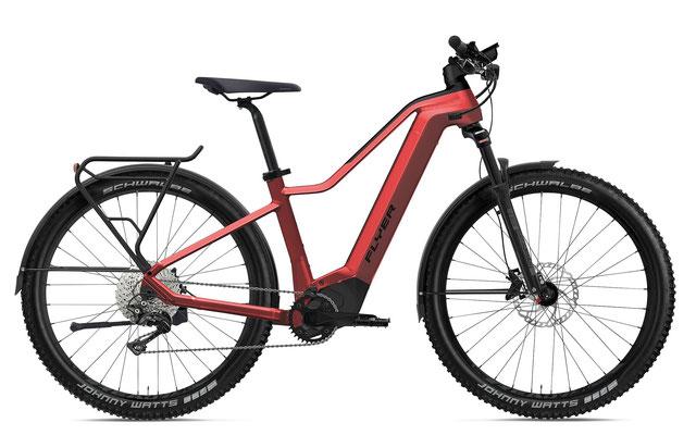 E-Bike FLYER Goroc2 Herren mercury red