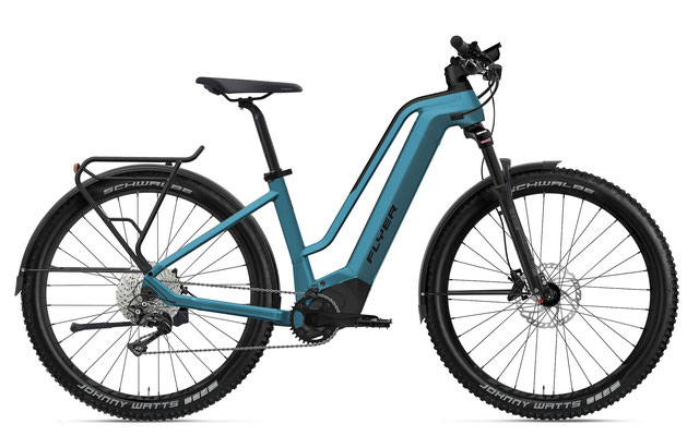 E-Bike FLYER Goroc2 Comfort coast blue